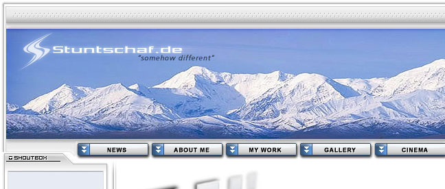 Personal Website Stuntschaf